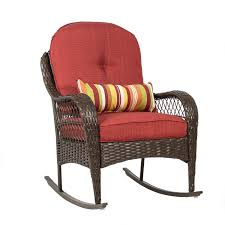 rocking chairs canada wicker amazoncom best choiceproducts wicker rocking chair patio porch deck fu