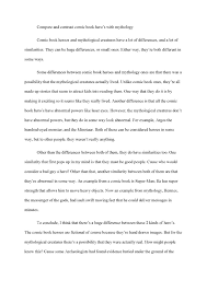 writing comparison essays balyluli cover letter gallery of examples of comparison essays