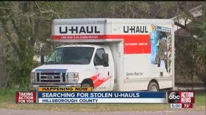 Uhaul Truck S Stolen U Haul Trucks Five Since December Have Investigators
