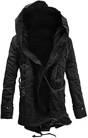 AKIMPE <b>Mens</b> Winter <b>Thicken Cotton</b> Parka <b>Jacket</b> with Removable ...