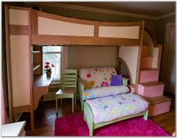 Loft Bed With Sofa Bunk Bed With Sofa Imanada Beds Desk And Home Furniture Design