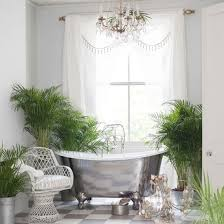 image bathtub decor:  bath tub decors osbdata astonishing tropical bathroom designs with silver bathtub