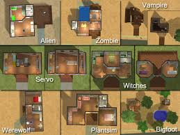 Sims Mansion Floor Plans  sims floor plans   Friv GamesSims House Plans