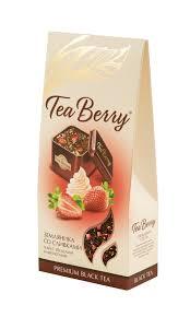 Купить <b>Чай черный Tea</b> Berry Земляника со сливками листовой ...