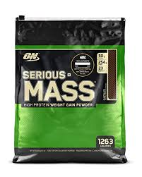 Optimum Nutrition (ON) <b>Serious Mass</b> Weight <b>Gainer Protein</b> Powder