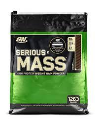 Optimum Nutrition (ON) <b>Serious Mass</b> Weight Gainer <b>Protein</b> Powder