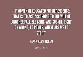 Educated Women Quotes. QuotesGram via Relatably.com
