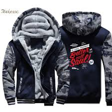 <b>Breaking Bad Hoodie Men</b> Walter White Cook Sweatshirts Coat ...
