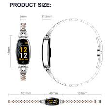 <b>Women Fashion</b> Waterproof bluetooth Smart <b>Watches Bracelet</b> ...