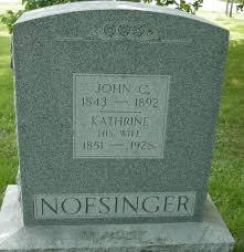 john c nofsinger 1843 1892 a grave memorial john c nofsinger