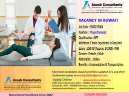 required physiotherapist for anush consultants required physiotherapist for
