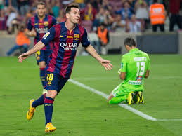 Hasil gambar untuk barcelona football club messi neymar suarez