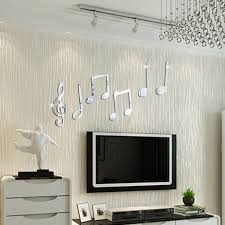 Decoration Removeable Acrylic <b>Vinyl</b> Art Musical Note Sticker <b>Walls</b> ...