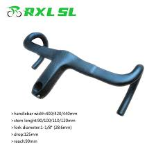 RXL SL <b>Bicycle Carbon Road Handlebar</b> Ultra-light Bike Handle Bar ...