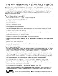 resume scanning software getessay biz tips for preparing a scannable resume inside resume scanning