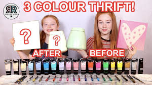 <b>3 Color</b> Paint & Marker Thrift Makeover Challenge * Cheap Summer ...