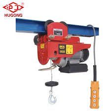 China <b>Mini Electric</b> Wire Rope Hoist with <b>Wireless</b> Remote Control ...