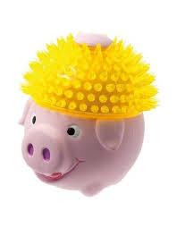 <b>Свинка в шапке</b> игрушка для собак