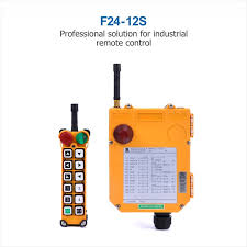 TELEcrane <b>Industrial Wireless Radio</b> Remote Control F24 12S ...