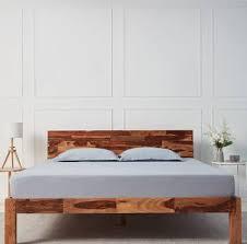 Wakefit Andromeda <b>Sheesham Solid Wood</b> Queen Bed Price in ...