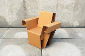 chairigami the cardboard furniture of the future timecom card board furniture