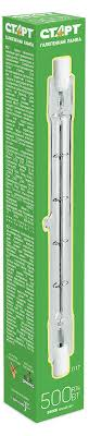 Купить <b>Лампа галогенная</b> «<b>СТАРТ</b>» 500W R7S 220V 117 мм с ...
