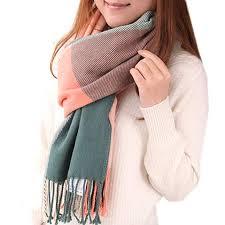 Mocasor Women's Plaid <b>Scarf</b> Blanket <b>Winter Fashion</b> Soft Warm ...