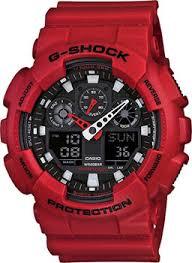 Наручные <b>часы Casio</b> с красным браслетом. Оригиналы ...
