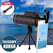 <b>40x60 HD</b> Waterproof Universal <b>Mobile Phone</b> Telescope,Focus ...