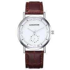 KINGNUOS 018 Fashion Number <b>Men's</b> Waterproof <b>Quartz</b> Watch ...