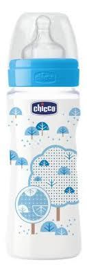 Купить детская <b>бутылочка Chicco Well-Being Boy</b> 4 мес 330 мл ...
