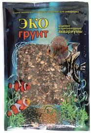 """Грунт для аквариума <b>ЭКОгрунт</b> """"<b>Речной</b>"""", <b>гравий</b>, 4-8 мм, 1 кг ..."""