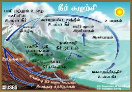 the water cycle  tamil  from usgs water science schooldiagram of the water cycle
