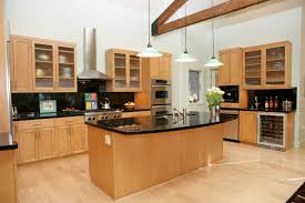 maple kitchen floor contemporary  images about kitchen on pinterest cabinets dark granite and recessed