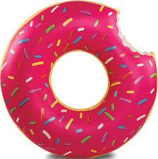 "<b>Круг надувной BigMouth</b> ""Strawberry Donut"" BM1516, цвет ..."