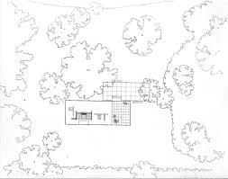 Farnsworth House Floor Planfloor plan in context