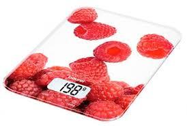 <b>Весы</b> кухонные <b>Beurer KS19 berry</b> рисунок — купить недорого с ...