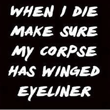 19 Struggles Of Getting The Perfect Winged Eyeliner Cateye   Gurl.com via Relatably.com