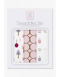 <b>Набор пеленок SwaddleDesigns</b> - <b>SwaddleLite</b> Cute & Calm Pastel ...