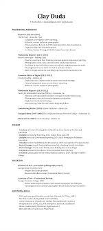 resume awards clay duda view resume as pdf