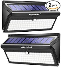 Luposwiten <b>100 LED Solar</b> Lights Outdoor, 2000 Lumens ...
