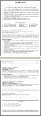 advisor resume service mortgage advisor cv