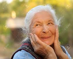 Risultati immagini per volto donna anziana