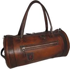 Nordkapp 177 - - <b>Travel Bag</b> Nordkapp in <b>cow</b> leather