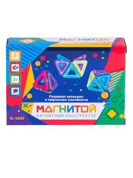 <b>Магнитой Конструктор магнитный</b> 8 треугольников (2 - с окном ...
