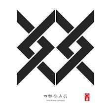 Yotsu Kumiai Yamagata | KAMON [ Japanese <b>Family</b> Crest ]