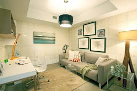 combine the guest room with the office space source dkor interiors bedroom guest office combination
