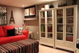 home office modern basement basement home office