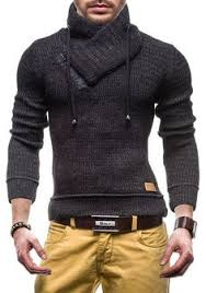 <b>Zogaa 2019 Autumn Winter</b> Turtleneck Sweater High Lapel Pullover ...
