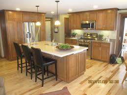 wooden kitchen island cooktop cream